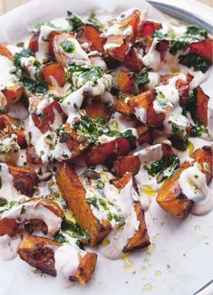 Roasted Squash with Yoghurt   Easy Ottolenghi Vegetable Recipe