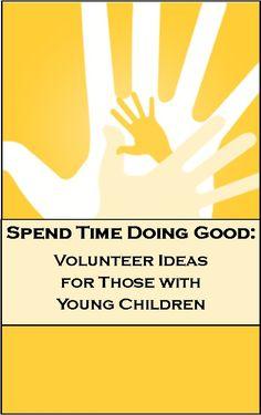 Volunteer opportunities for children. Community service ideas for kids.