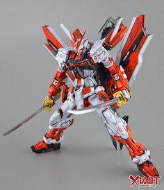 GUNDAM GUY: MG 1/100 Astray Red Frame Kai - Painted Build