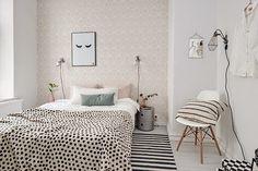 Apartamento pequeno com mobiliário vintage ~ Decoração e Ideias - casa e jardim