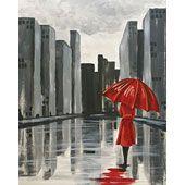 Social Artworking: The Red Umbrella
