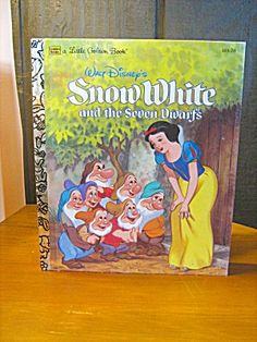 A Little Golden Book Snow White And The Seven Dwarfs