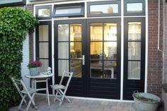 Double Patio Doors, Gate House, Loft Room, Breezeway, Kitchen Doors, Windows And Doors, Glass Door, French Doors, Home Deco