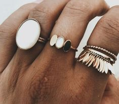 jewelry + rings | Julie de la Playa