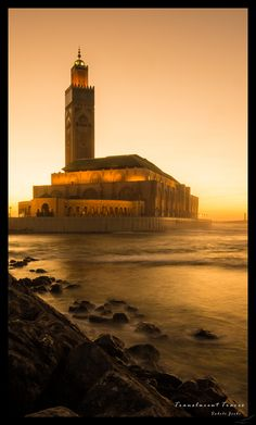 Casablanca Sunset by Sabelo Jeebe on 500px The Hassan II Mosque in Casablanca. Shot taken after Sunset. Morocco,
