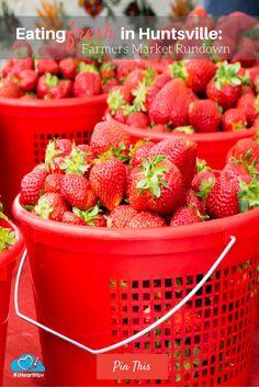 Eating Fresh in Huntsville: Farmers Market Rundown