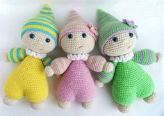 Best 10 Ravelry: Project Gallery for Cuddly-baby – amigurumi doll pattern by Mari-Liis Lille – SkillOfKing. Crochet Cat Pattern, Crochet Amigurumi Free Patterns, Crochet Animal Patterns, Cute Crochet, Crochet Animals, Doll Patterns, Crochet Baby, Knitted Dolls, Crochet Dolls