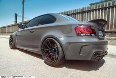 This BMW 1M Looks Simply Ferocious On Matte Black Rims
