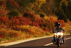 7 Motorcycle Tours for Fall