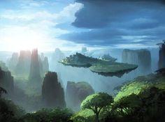 floating islands city ! :)