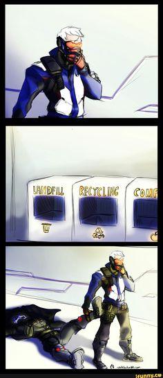 overwatch, overwatchcomic, reaper, soldier76