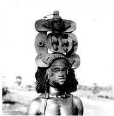 Mask with hinged jaw (Ibibio)