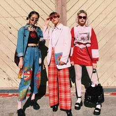 These girl personal style is poppin so much originality and uniqueness. A total inspiration