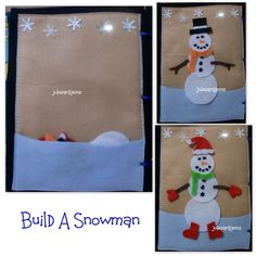 the Build A Snowman page