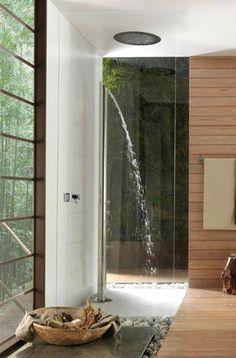 Shower column BOSSINI #japan #bamboo #shower #bathroom