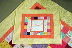 Love the idea of a pillow sham that matches the quilt with a pocket in it for the tooth fairy