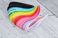 300 Paper quilling strips pack with 30 colors Origami Paper, Paper Quilling, Origami Lucky Star, Paper Strips, Creative, Handmade Gifts, Colors, Vintage, Etsy