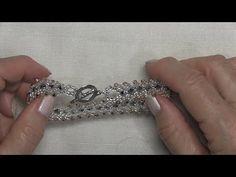 DIY - Pulsera - tecnica San Petesburgo - Bracelet - Saint Petersburg technique - YouTube