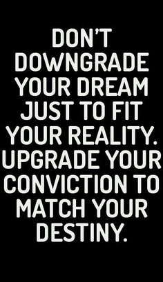 Yes. Yes and more yesssss. I cannot tell you how many people have tried to undermine many of my aspirations due to how far fetched they seem. I'm here to tell you though...don't let other people's shortcomings influence the possibilities of YOUR life. Live it your way.
