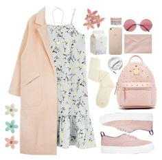 """""""//feeling soft//"""" by beebalms ❤ liked on Polyvore featuring Charlotte Russe, Eytys, MCM, Korres, Urbanears, Forever 21, Kiss The Sky and Lucky Brand"""