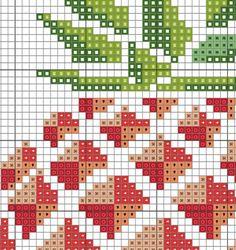 Pineapple Counted Cross stitch Pattern PDF Cross par KHANNAandILAN