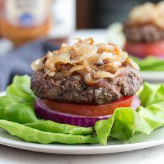 Low Carb Steakhouse Burger Recipe | Low Carb Maven
