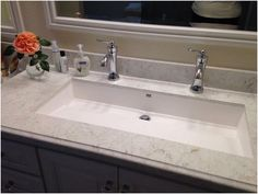 Bathroom Trough Sink Undermount Elegant Really Encourage Master