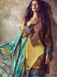 Buy Lawn cotton suit • Isha Collectionz