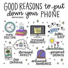 5 Ways Your Phone Could Be Hurting Your Mental Health - Amazing Self Care Tips health journal health day health wellness Digital Detox, Self Care Activities, Bullet Journal Ideas Pages, Self Care Routine, Journal Inspiration, Inspiration Quotes, Motivation Inspiration, Healthy Habits, Healthy Tips