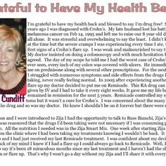 Zija- Chron's Disease Testimony- Zija really helps!