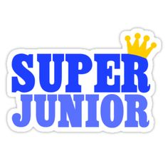 'Super Junior' Sticker by fyzzed Kpop Stickers, Band Stickers, Printable Stickers, Cute Stickers, Super Junior, Leeteuk, Heechul, Kpop Logos, Cover Wallpaper