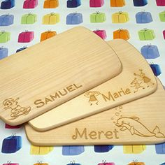 Hobby Cnc, Bamboo Cutting Board, Personalised Plates, Personalized Gifts, Wooden Signs With Sayings, Original Gifts, Gifts For Women, Day Care
