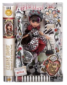 Ever After High Spring Unsprung Cerise Hood Doll NEW daughter of Red Riding Hood Monster High, Ever After High Rebels, Ever After Dolls, Hama Beads Minecraft, Perler Beads, Fairy Coloring Pages, Thing 1, Mattel Dolls, Bottle Cap Images