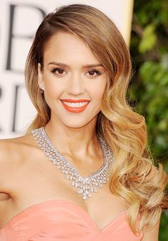 Who can forget the $5.8 million Harry Winston diamond necklace Jessica Alba rocked at the Golden Globes?