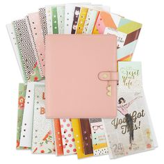 Simple Stories - Carpe Diem Collection - The Reset Girl - A5 Planner - Boxed Set - Ballerina at Scrapbook.com