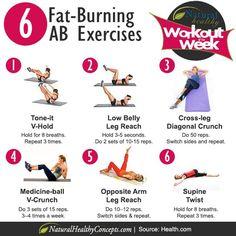 Fat-Burning AB Exercises