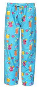 """The Cat's Pajamas Men's """"Happy Hour"""" Flannel PJ Pants $56 - SHOP http://www.thepajamacompany.com/store/product.php?productid=18666&cat=0&page=1"""