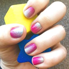 Gone Dancing with Berry Sparkler.   Jamberry wraps | nail art | manicure | Spring Summer Catalog 2015