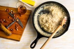 Sweet Oven-Baked Grits and Millet With Pecans and Maple Syrup - NYTimes.com