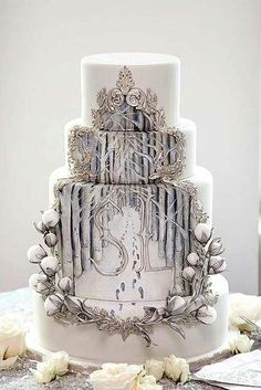 Narnia wedding cake                                                                                                                                                     More