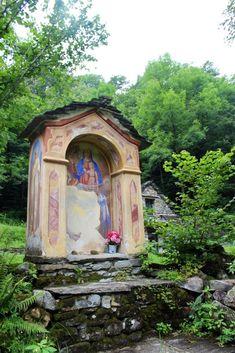 Fundstücke am Wegesrand. Gazebo, Outdoor Structures, Mini, Painting, Art, Switzerland, Mountains, Hiking, Art Background