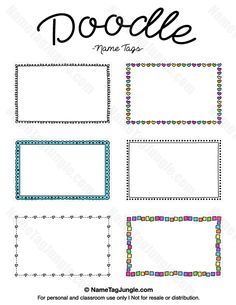 Free Printable Halloween Party Name Tags The Template Can Also Be - Free printable name tags template
