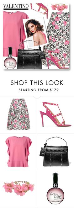 """Rockin' Valentino!"" by brendariley-1 ❤ liked on Polyvore featuring Valentino, RED Valentino, Nordstrom and valentino"
