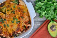 Dinner Recipe: Dairy-Free, Gluten-Free Cheesy White-Bean Enchiladas from @The Healthy Apple. Perfect spring eating and a great addition for our #GOVeggieSpringBoard. How do you define healthy living? Share your board with us for a chance to win.