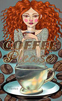 Mimi Gif: Coffee please Coffee Gif, Coffee Images, Coffee Pictures, I Love Coffee, Coffee Humor, My Coffee, Time Pictures, Funny Coffee, Good Morning Coffee