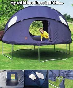 Tr&oline tent! YEEEEES!!! Letu0027s sleep on my tr&oline this summer! & 10ft Princess Trampoline Tent | G i f t s | Pinterest | Trampoline ...