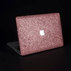 Fall in love with your MacBook again and again with this handmade glitter case - it is simply the best way to refresh the looks of your hardworking device! About: • Made with durable, hard plastic, the case will protect your laptop from dents and scratches, while giving an impression
