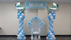 baby shower balloon displays - Google Search