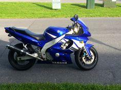 2003 Yamaha YZF 600R Sport bike