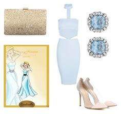 """""""Cinderella"""" by disney-geek-freek ❤ liked on Polyvore featuring Boohoo, Gianvito Rossi and Neiman Marcus"""